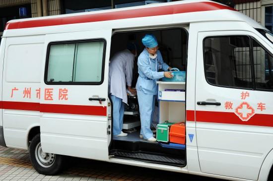 救护车安装GPS定位器